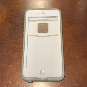 White lifeproof iPhone 7 case